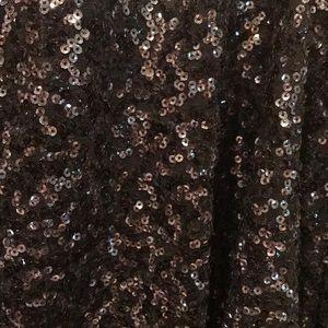 Gibson Latimer Other - Black sequin evening jacket/kimono